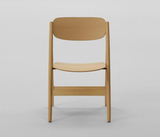 Hiroshima Folding Chair de MARUNI | Chaises polyvalentes