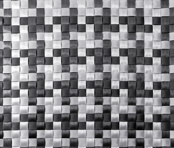 2Tone FX D Check black & gray by kymo | Rugs / Designer rugs