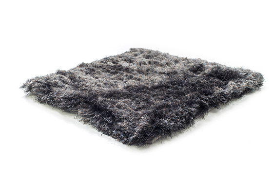 SG Airy Premium Blend solid steel & cocoa by kymo | Rugs / Designer rugs