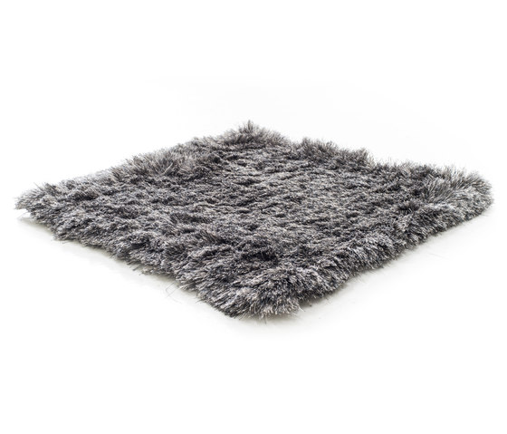 SG Airy Premium Blend creme beige, solid steel & wild dove by kymo | Rugs / Designer rugs