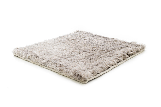 SG Airy Premium Blend Low Cut creme beige, icey grey & raw white by kymo | Rugs / Designer rugs