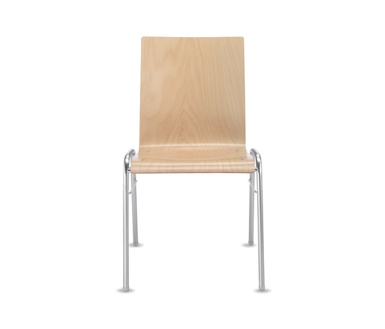 Amico extra Four-legged chair by Dauphin | Multipurpose chairs