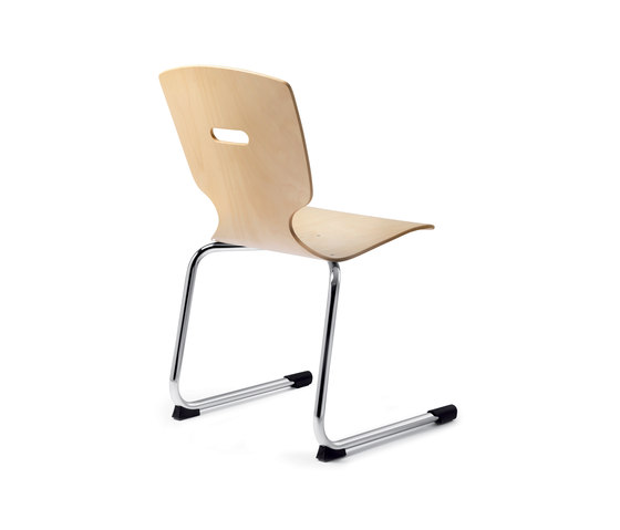 Amico extra Cantilever chair by Dauphin | Multipurpose chairs