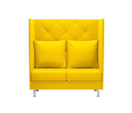 Atelier Zweisitzer von Dauphin | Rückzugsmöbel