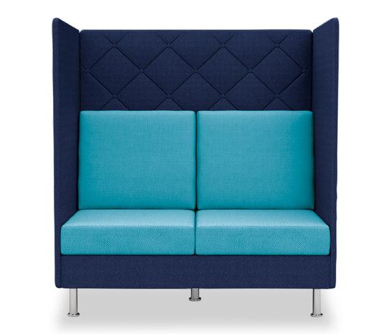 Atelier Zweisitzer, Höhe 136 cm von Dauphin | Loungesofas