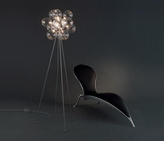 Molecule Diam Floor lamp 50 FL 12 by HARCO LOOR   Free-standing lights