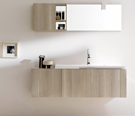 Elegant Freestanding Bathroom Furniture Zenit Matt Pietra Floor Standing