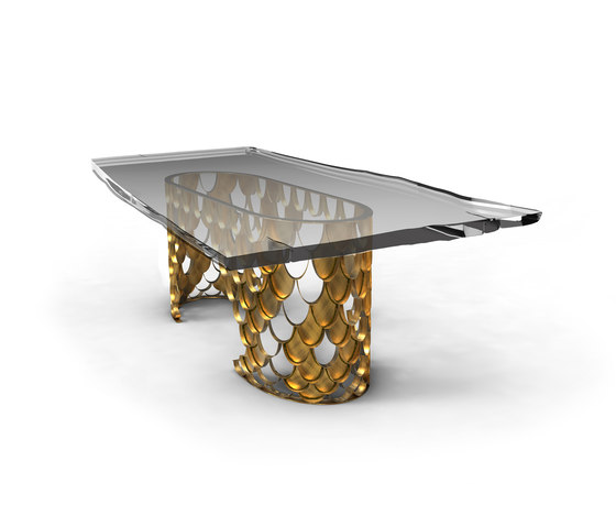 Koi | Dining Table II by BRABBU | Dining tables