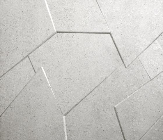Anarchy white natural prism by Apavisa | Ceramic slabs