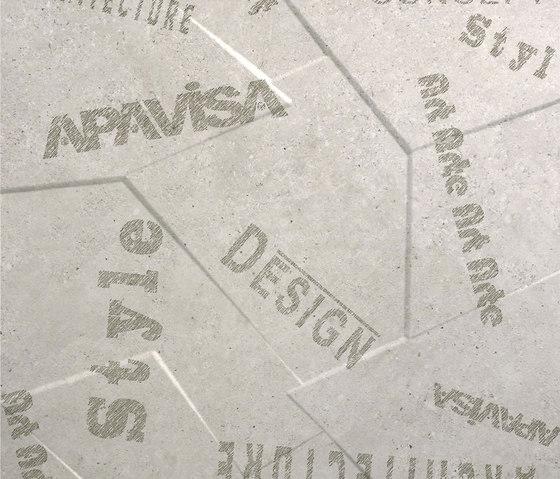 Anarchy beige natural prism letters by Apavisa | Slabs