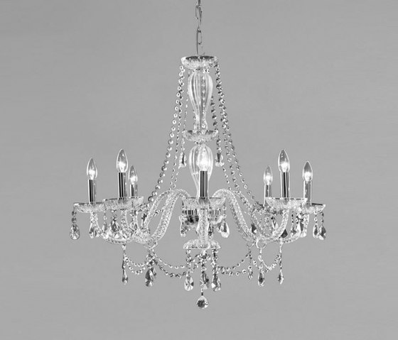 Goccia Chandelier by Milldue | Ceiling lights
