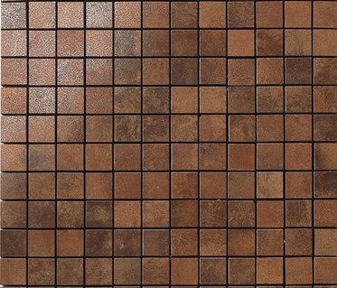 Metal copper lappato mosaico by Apavisa | Metal mosaics