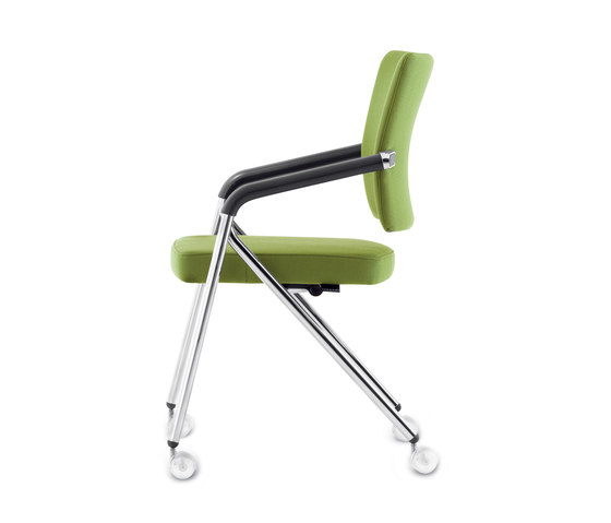 JoinMe Four-legged chair by Dauphin | Multipurpose chairs
