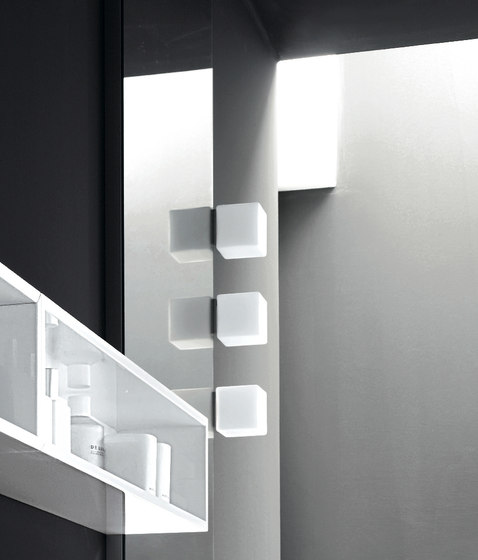 Cube Lamp by Milldue | Mirror lighting