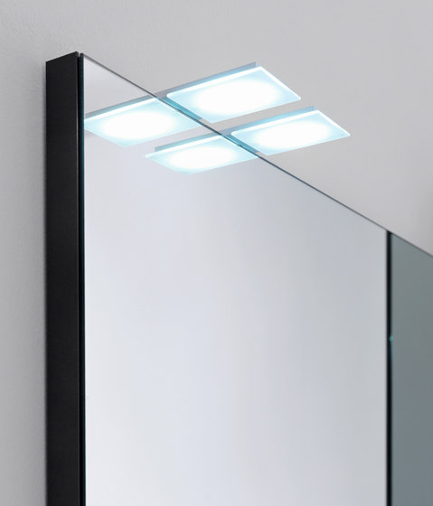 Flat Lamp by Milldue   Mirror lighting