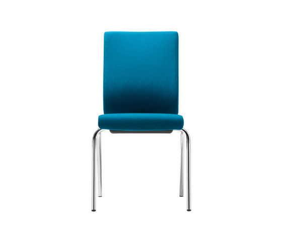 @Just2 operator Four legged chair by Dauphin | Visitors chairs / Side chairs