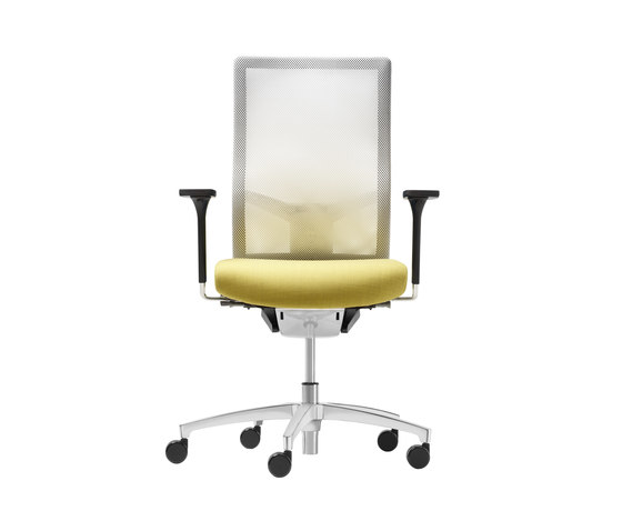 @Just2 mesh Swivel chair by Dauphin | Task chairs