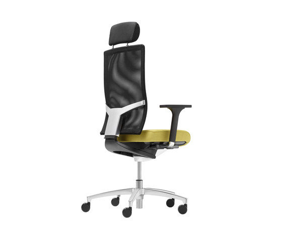 @Just2 mesh Swivel chair by Dauphin | Management chairs