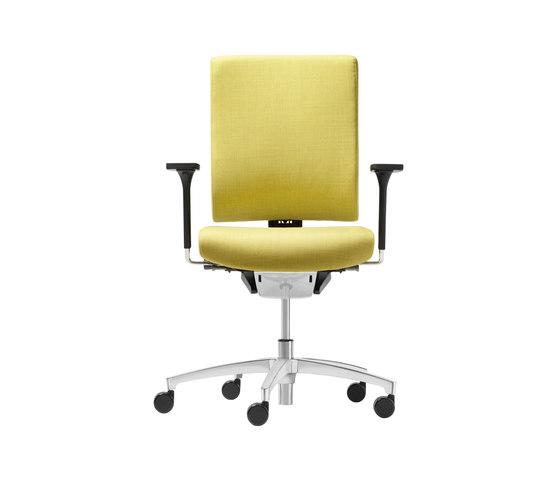 @Just2 comfort Conference swivel chair de Dauphin | Chaises de travail