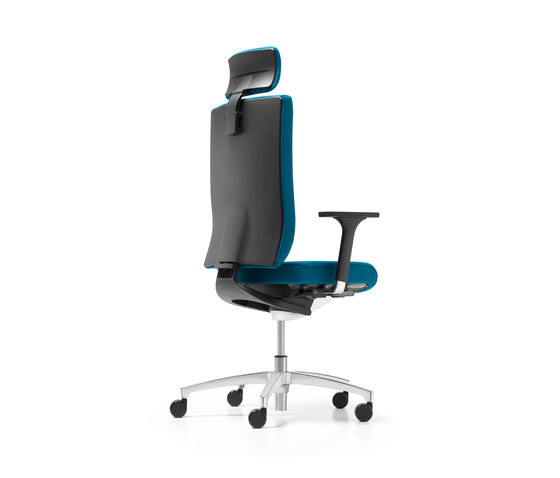 @Just2 operator Swivel chair by Dauphin | Management chairs