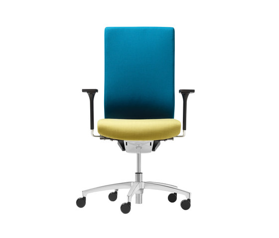 @Just2 comfort Conference swivel chair de Dauphin | Chaises de travail