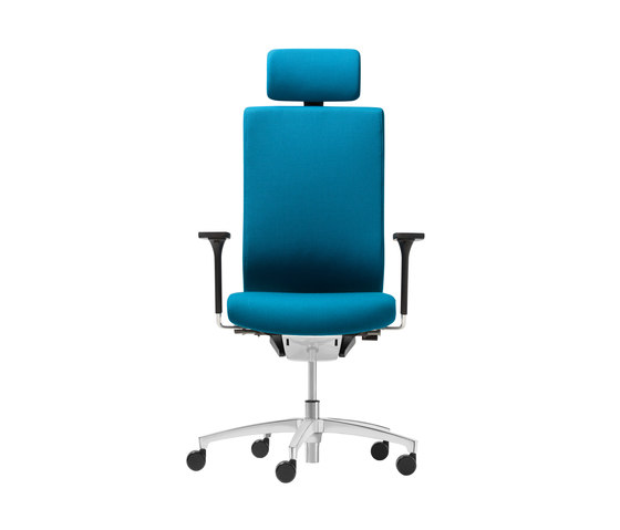 @Just2 comfort Swivel chair by Dauphin | Management chairs