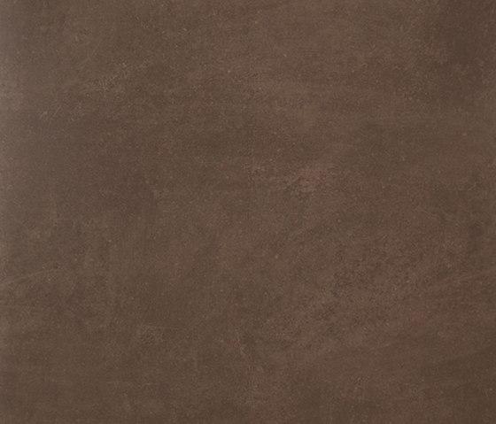 Microcement brown lappato 60x60 by Apavisa | Concrete panels