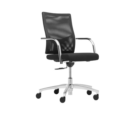 @Just2 mesh Conference swivel chair de Dauphin | Sillas de oficina