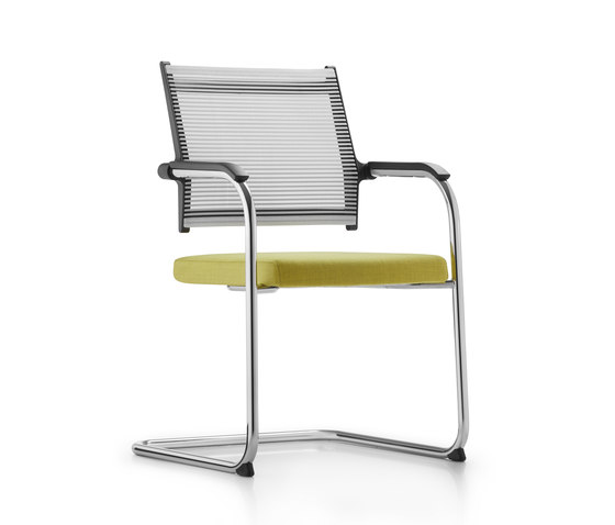 Lordo Cantilever chair by Dauphin   Visitors chairs / Side chairs