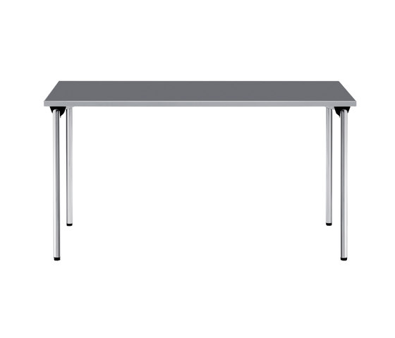Plenar2 basic Four-legged table by Dauphin | Multipurpose tables