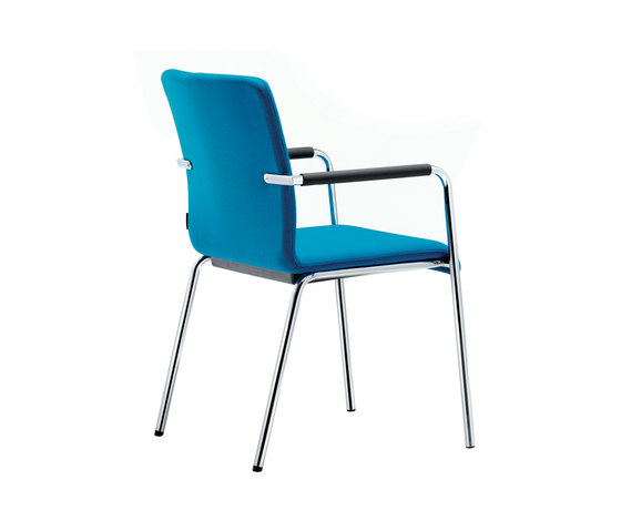 Plenar2 conference Four-legged chair by Dauphin | Visitors chairs / Side chairs
