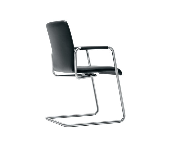 Plenar2 conference flex Cantilever chair di Dauphin | Sedie visitatori