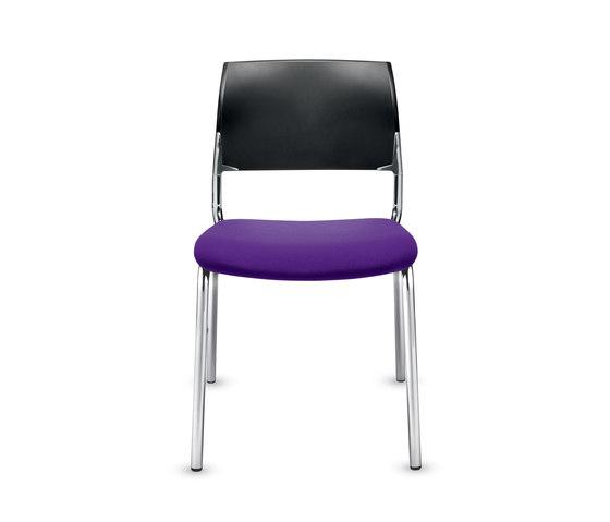 Previo Four-legged chair de Dauphin | Sillas multiusos