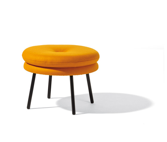 Little Tom stool by Lampert | Poufs