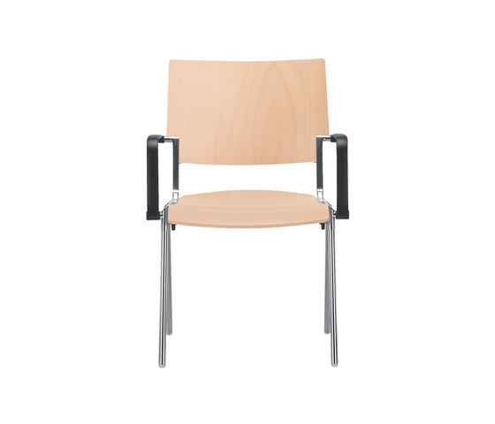 Sento Four-legged chair by Dauphin | Multipurpose chairs