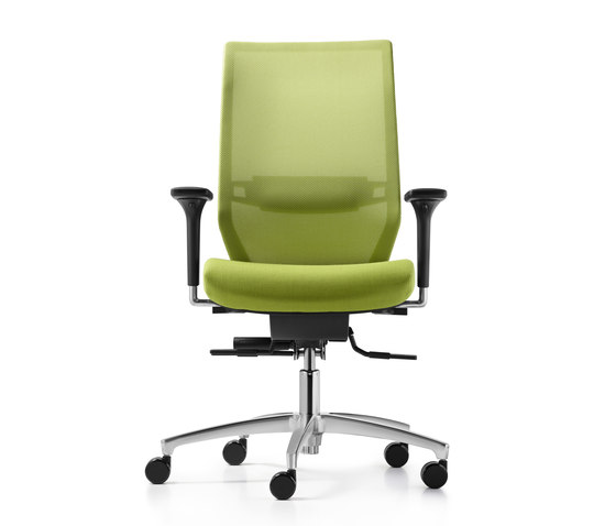 Shape mesh Swivel chair by Dauphin | Task chairs