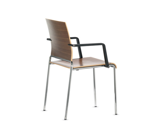 Siamo Four-legged chair by Dauphin | Multipurpose chairs