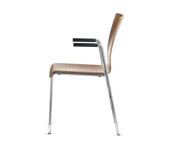 Siamo Four-legged chair by Dauphin | Multipurpose chairs