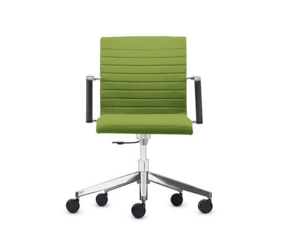 Siamo conference Swivel chair by Dauphin | Visitors chairs / Side chairs