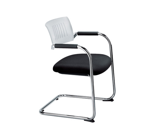 Teo 1 Cantilever chair by Dauphin | Visitors chairs / Side chairs
