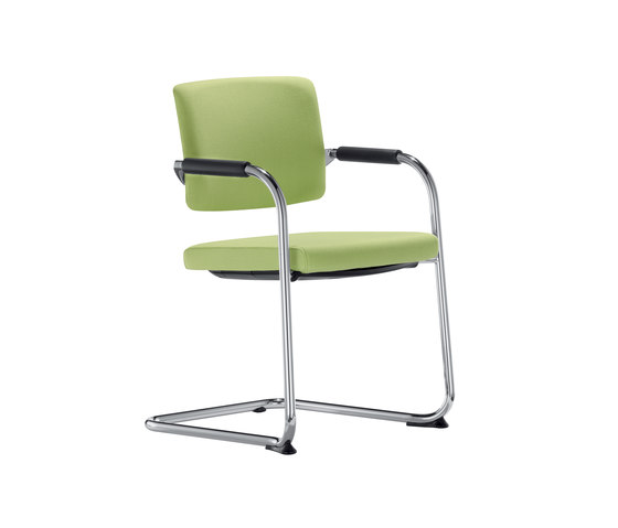 Teo 2 Cantilever chair by Dauphin | Visitors chairs / Side chairs