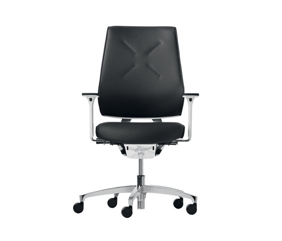 X-Code premium soft Swivel chair by Dauphin | Task chairs