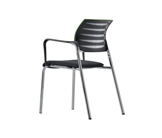 X-Code Four-legged chair by Dauphin | Visitors chairs / Side chairs
