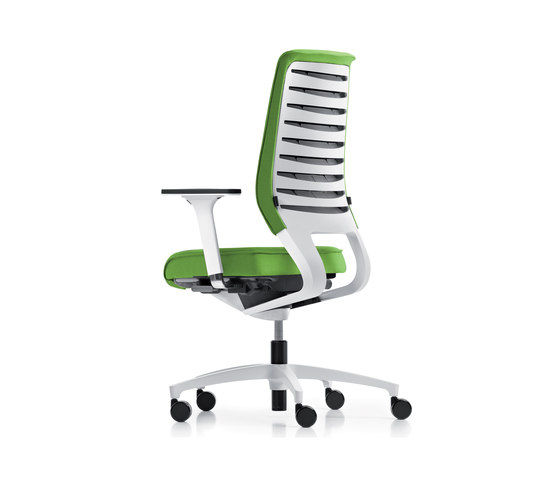 X-Code pure soft Swivel chair de Dauphin | Chaises de travail