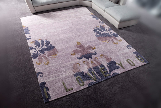I Love You by Erba Italia | Rugs / Designer rugs