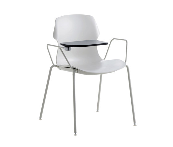 Stereo Four-leg chair by CASAMANIA-HORM.IT | Conference chairs