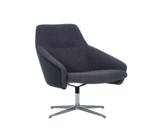 Re Wrap swivel base by Modus | Lounge chairs