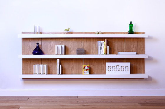 Made to Measure Shelving by ON&ON | Wall shelves