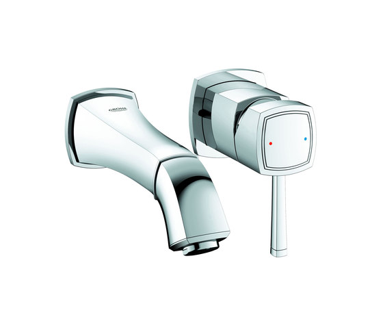 Grandera Two-hole basin mixer by GROHE | Wash-basin taps
