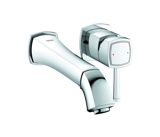 Grandera Two-hole basin mixer M-Size by GROHE   Wash basin taps